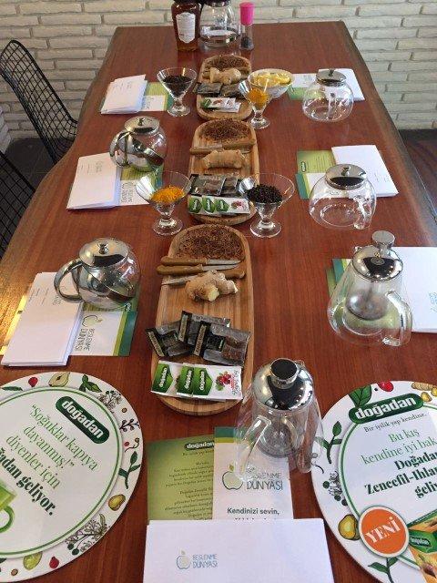 Metabolizma çayı etkinliğimize sponsor olan Doğadan çay ve Anavarza Bal'a çok teşekkür ederiz
