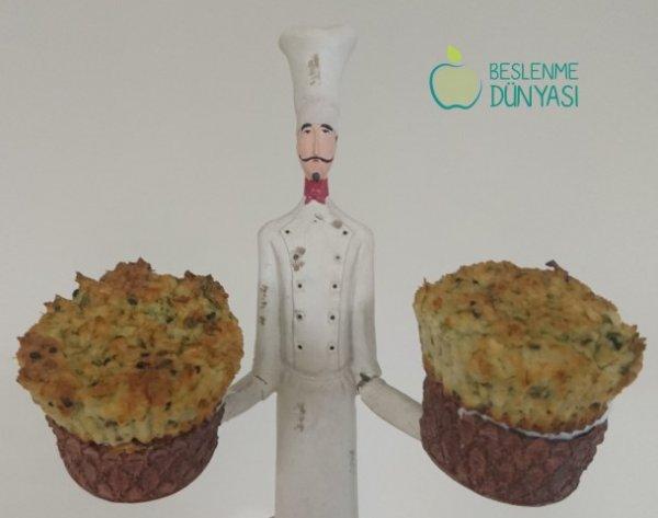 Mahlepli Peynirli Muffin
